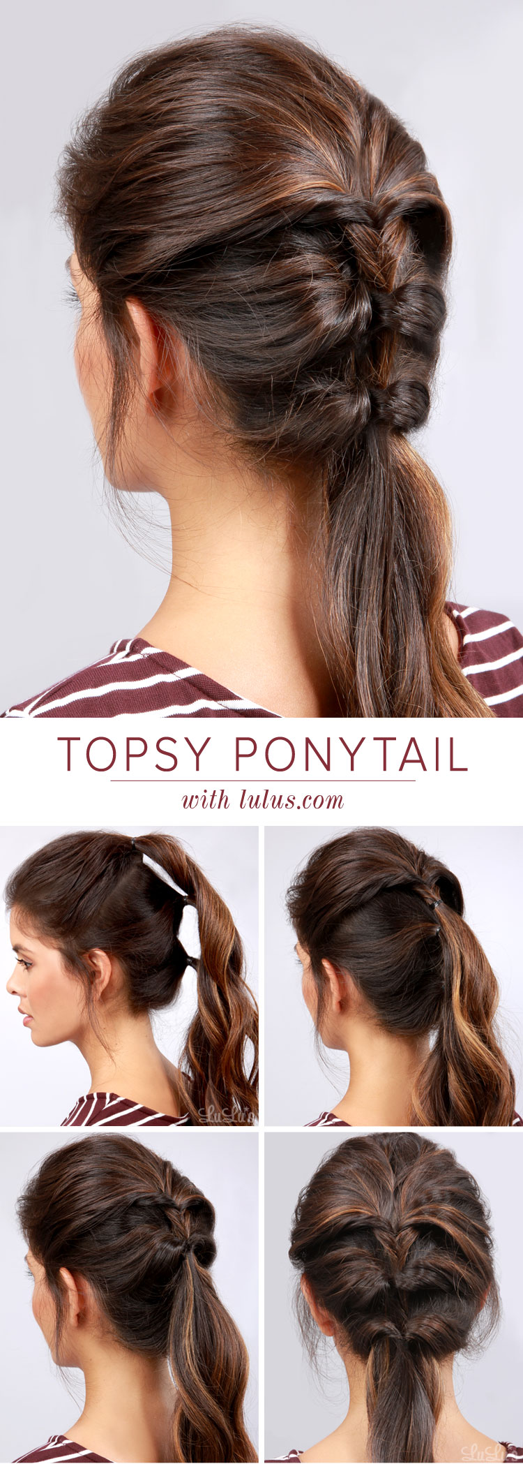 Cute do it yourself ponytail hairstyles hrotelrehberii 15 stylish by hairstyle tutorials you must see solutioingenieria Image collections