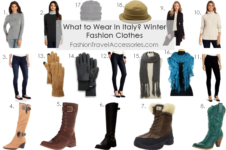 What To Wear In Italy Winter  Fashion Clothes - 1