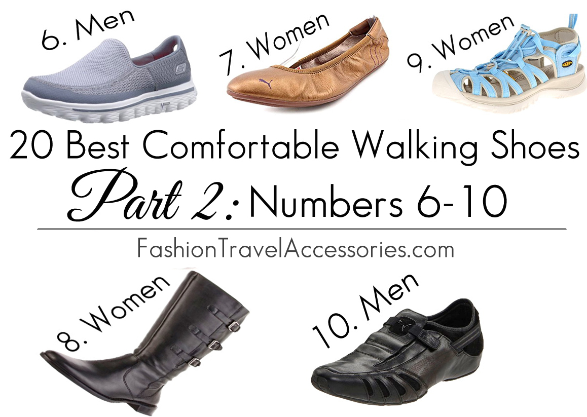 20 Best Comfortable Walking Shoes For