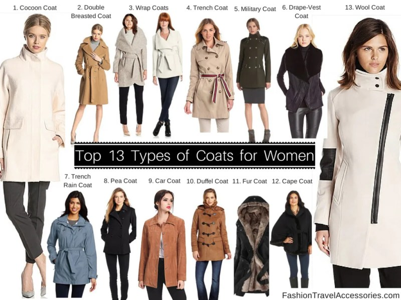 types of coats   Funf pandroid co top 13 types of coats for women to wear winter fall spring
