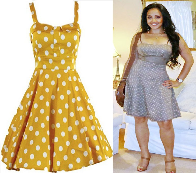 What_should_I_wear_today_Everyday_Fashion_Outfit_of_the_day_Brown_Polka_Dot_Dress_2