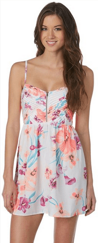 What_should_I_wear_today_Everyday_Fashion_Outfit_of_the_day_Pastel_Floral_Dress_8