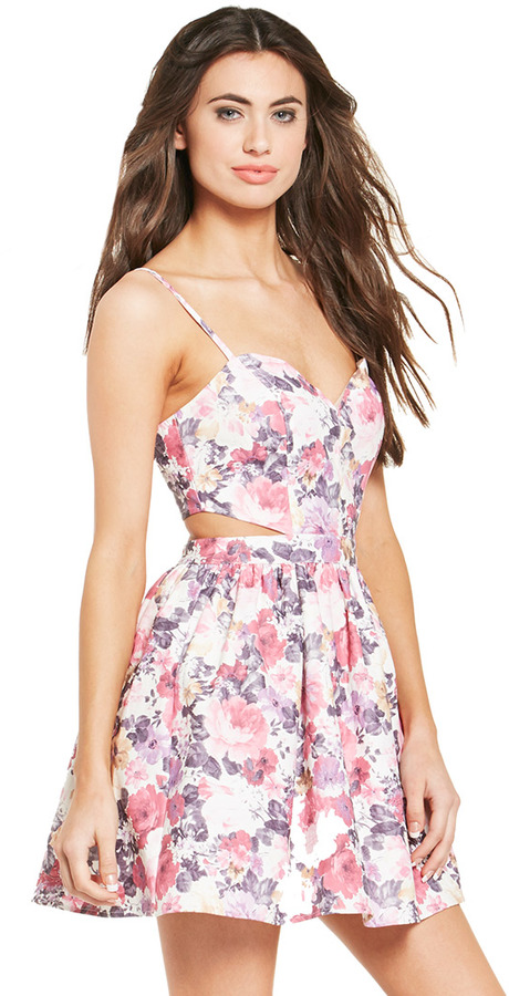 What_should_I_wear_today_Everyday_Fashion_Outfit_of_the_day_Pastel_Floral_Dress_9