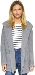 2 Sweaters For Paris Chinti and Parker Women's Hooded Cardigan