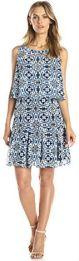 6 Jessica Simpson Women's Sleeveless Popover Printed Dress