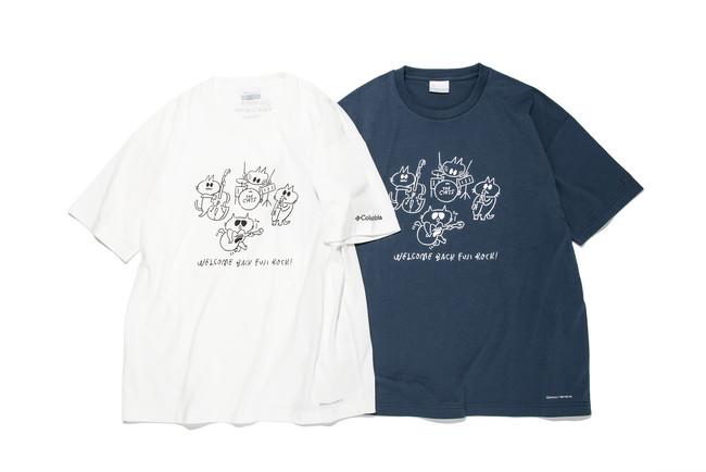 FUJI ROCK FESTIVAL'21 × Columbia コラボレーションTシャツ 6月18日(金) 発売開始