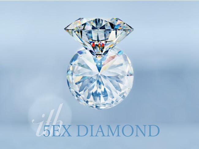 【ith/イズ】限定10石!輝きを追求した5EXダイヤモンドで、婚約指輪をより美しく上質に