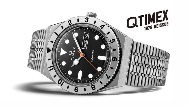 《大人気シリーズから日本限定モデルが初登場‼》米国の腕時計ブランド「タイメックス」が『Q TIMEX Japan Limited Edition』を7/2(金)先行発売、9/24(金)一般発売