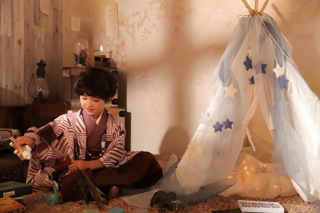 写真工房ぱれっと新作発表(七五三)my room×evening