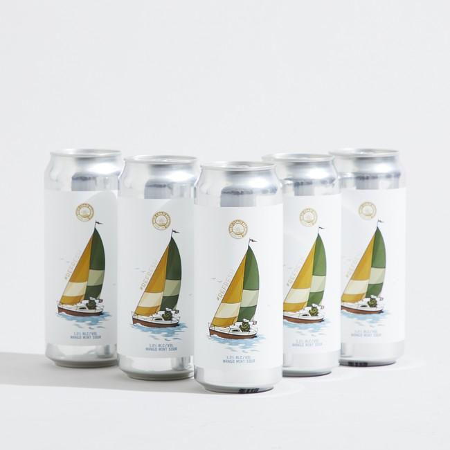 8月26日(木)「West Coast Brewing」と初コラボレーションしたクラフトビール『#refresh』を発売。Tシャツ、キャップなどオリジナルグッズ4種類も同時発売します。