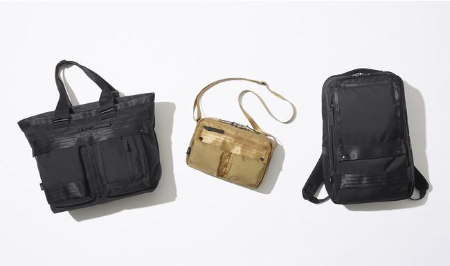 多様化するワークスタイルに対応する、ミリタリーテイストのオンオフ兼用バッグ「ミルフューズ」登場