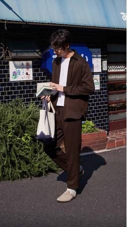 """""""スーツ""""だからコーディネイトの手間いらず!シャツとパンツのセットアップ「シャツパンスーツ」長袖を新発売~リモートワークも休日も大活躍のアンダー5,000円セットアップ~"""