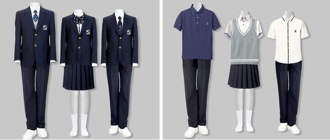 ワールドのユニフォーム/アパレル企画製造 ~「神戸モデル標準服」の基本デザインに採用~