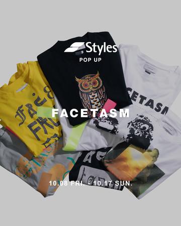 落合宏理がデザインするレーベル「FACETASM」がStyles代官山店にて10/8(金)~期間限定のPOP-UP STOREを開催!