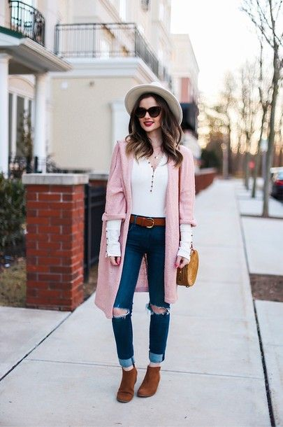 Winter Into Spring 2019 Transitional Outfit Ideas
