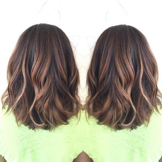 Layered bob haircut 2021 female