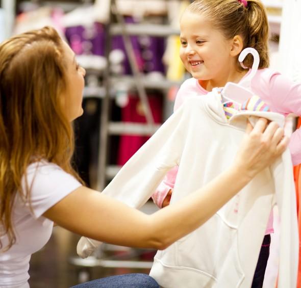 Buying Children Clothes