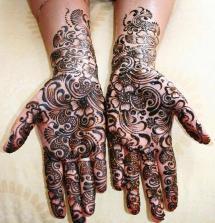 Beautiful Full Hand Feet Mehndi Designs For Events 2015