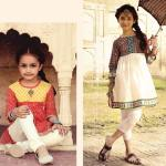 Top Kids Wear Party Line Dresses By Leisure Club 2015 6