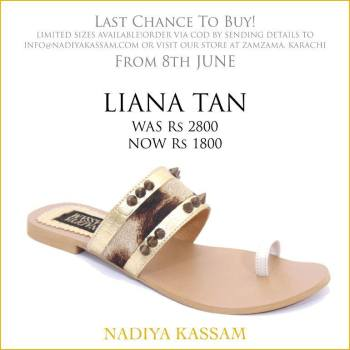 Eid Footwear Chappal For Girls Designed By Nadiya Kassam 2015