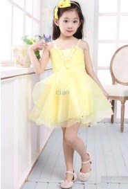 Little Girls Stylish Party Wear Dresses Pics Of 2015 10