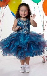 Little Girls Stylish Party Wear Dresses Pics Of 2015 15
