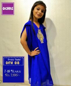 Summer Eid Kids Wear Dresses By Ochre 2015 18