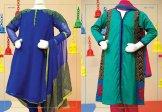 Angrakha Style Eid Kids Wear Dresses By Junaid Jamshed 2015 3