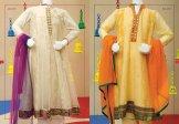 Angrakha Style Eid Kids Wear Dresses By Junaid Jamshed 2015 6