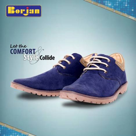 Casual Wear Eid Festive Shoes By Borjan Shoes 2015