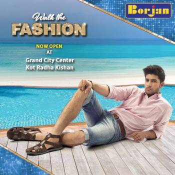 Casual Wear Eid Festive Shoes By Borjan Shoes 2015 15