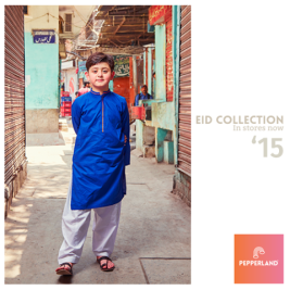 Eid Ul Fitr Kids Wear Traditional Dresses By Pepperland 2015 2