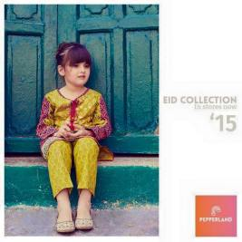 Eid Ul Fitr Kids Wear Traditional Dresses By Pepperland 2015 5