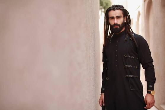 Eid Wear Casual Men Kurta Designs By Arslan Iqbal 2015