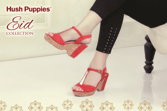 Women Eid Sandals Traditional Wear By Hush Puppies 2015 2