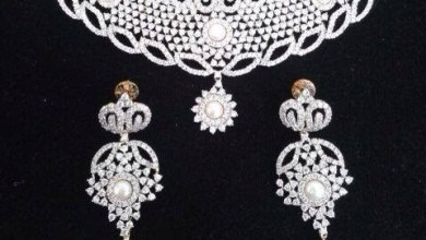 Elegant Diamond Jewellery Set Designs For 2015-16 Parites