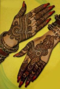 Indian Bridal Mehendi Designs For The Brides Of 2015-16 10