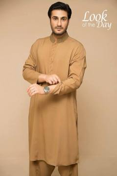 Mid Summer Kurta Designs For Men By Amir Adnan 2015