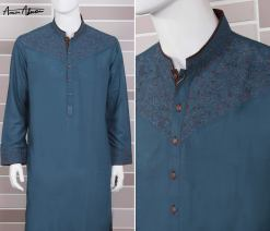 Mid Summer Kurta Designs For Men By Amir Adnan 2015 11
