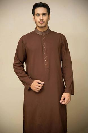 Mid Summer Kurta Designs For Men By Amir Adnan 2015 14