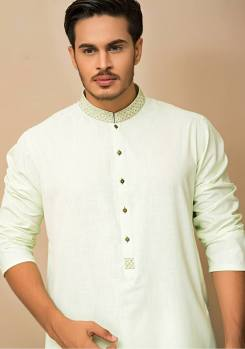 Mid Summer Kurta Designs For Men By Amir Adnan 2015 9
