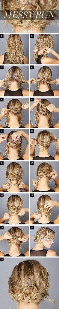 Various Hair Tutorials For Long Haired Girls 2015-16 14