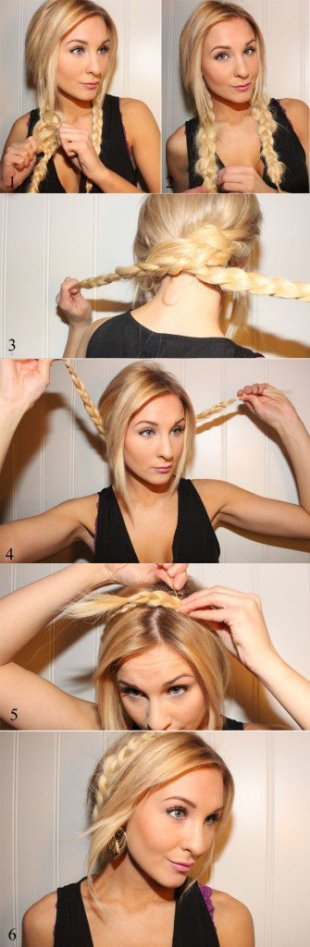 Various Hair Tutorials For Long Haired Girls 2015-16 15