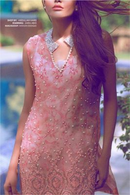 Autumn Pret Eid Wear By Zainab Salman 2015-16 6