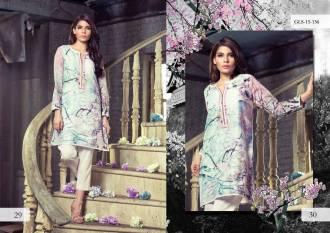 Digital Pret Kurtis Eid Wear Ideas Collection By Gul Ahmed 2015-16 10