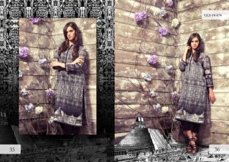 Digital Pret Kurtis Eid Wear Ideas Collection By Gul Ahmed 2015-16 13