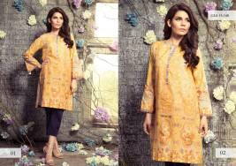 Digital Pret Kurtis Eid Wear Ideas Collection By Gul Ahmed 2015-16 7