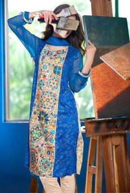 Eid Embroidered Kameez Designs By Fabrizio 2015-16 5