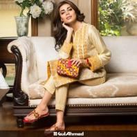 Eid Handbags With Dress By Gul Ahmed 2015-16 2
