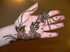 Eid Ul Azha Hand Mehndi Designs For Young Girsl 2015-16 19